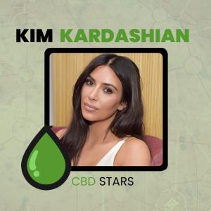 CBD Celebrities - Kim Kardashian takes CBD Oil